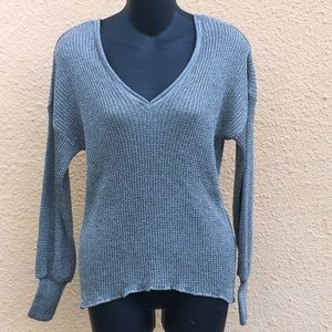 Zara knit off the shoulder sweater